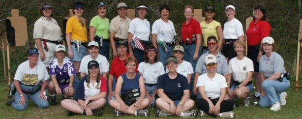 The very first Babes with Bullets Camp. Thank you Renee Autery for the picture!